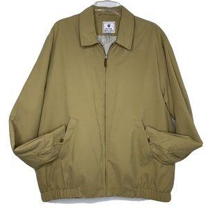 Peter Millar Golf Full Zip Harrington Jacket XL